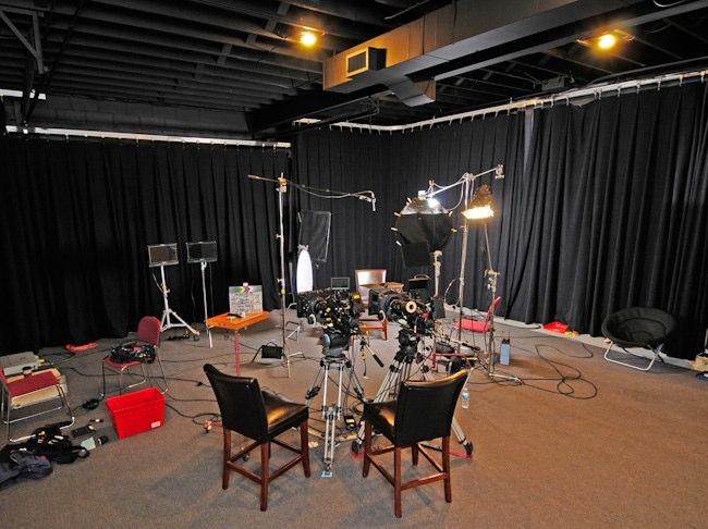 Studio set example C